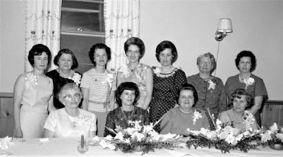 Clermont Ladies Aux. Annual Banquet 1966