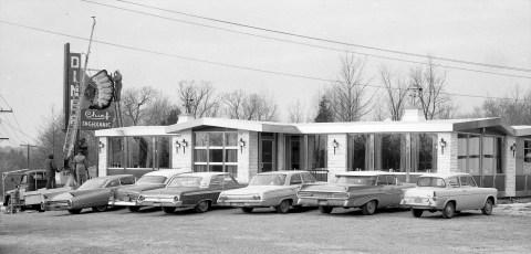 Burt Coon's Chief Taghkanic Diners at Rt. 82, Rt. 23 & Catskill 1963 (1)