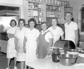 Columbia Country Club kitchen staff Claverack 1963