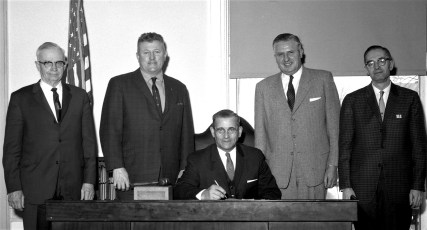 Columbia County Board of Supervisors Jay Moore Chairman 1965