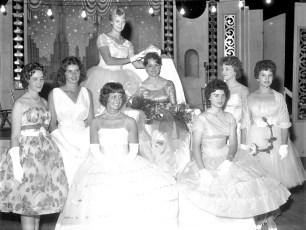 Columbia County School Girl Queen 1961