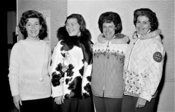 Columbia Ski Matic Club Officers 1965