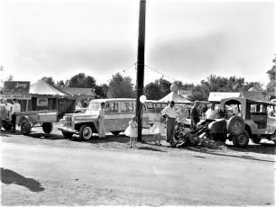 E. J.& R. Garage Jeeps at Chatham Fair  1960
