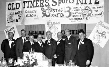 Elks Club Old Timers Sports Nite Hudson 1962