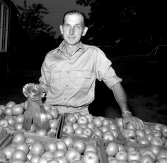 Norman Smith Grand Fruit Champion Col. Cty. Fair 1965