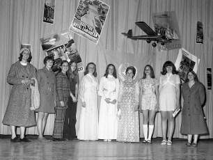 4H Department Fashion Show Hudson Middle School 1972 (1)