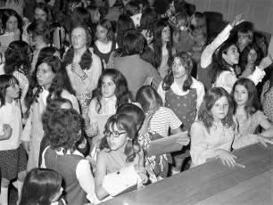 4H Department Fashion Show Hudson Middle School 1972 (2)