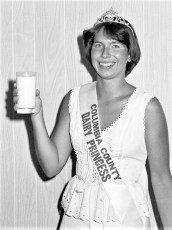 Col. Cty. Dairy Princess Audrey Zapp 1977