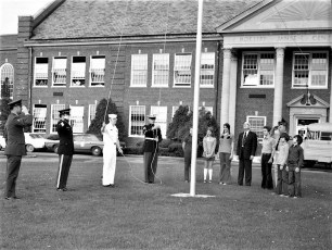 Hudson VFW donates flags to Col. Cty. Schools 1973 (4)