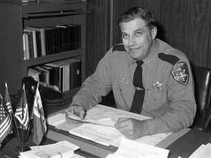 Columbia County Sheriff's Office  Sheriff Paul Proper 1976