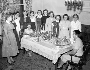 CMH 1957 Nurse's Graduation Tea