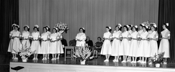 CMH 1959 Capping of Nurses at HHS Hudson (1)