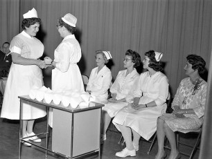 CMH 1962 capping of nurses at HHS (1)