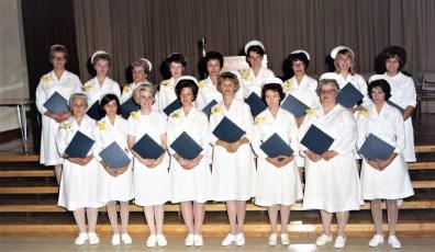 CMH 1967 Practical Nurses Graduation Mrs. Schuster