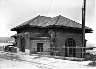 Rhinecliff Train Station 1960