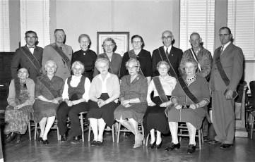 Rock City Grange members 1961