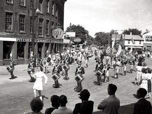 Hudson Firemans Parade 1945 (2)
