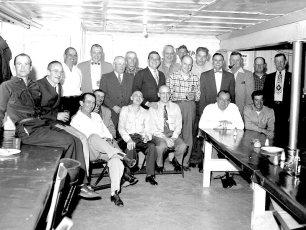 Becraft Fire Co. gathering 1956