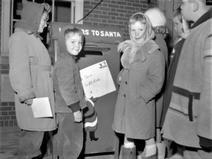 Chatham Fire Dept. Letters to Santa 1956