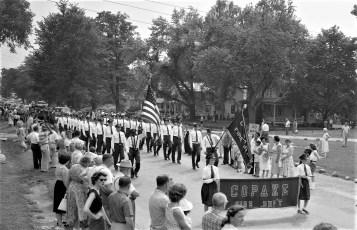 Col. Cty Volunteer Fireman's Parade Livingston 1958 (12)