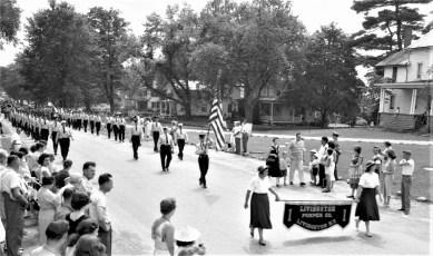 Col. Cty Volunteer Fireman's Parade Livingston 1958 (3)