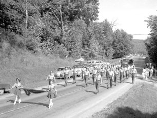 Col. Cty. Firemans Parade in Canaan 1956 (3)