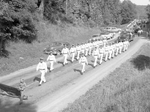 Col. Cty. Firemans Parade in Canaan 1956 (4)