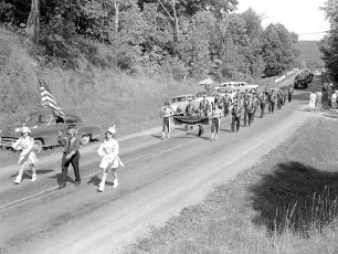Col. Cty. Firemans Parade in Canaan 1956 (7)
