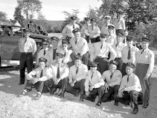Col. Cty. Firemans Parade in Canaan 1956 (9)