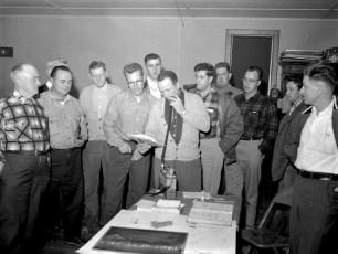 Livingston G'town Fire Depts radio instruction 1957 (2)