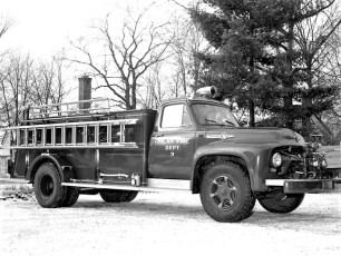 Milan Fire Dept. Pumper 1955