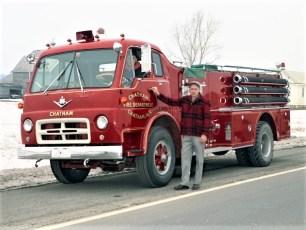 Chatham Fire Dept. pumper 1967