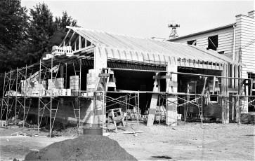 Greenport Fire Dept. addition underway 1969 (1)