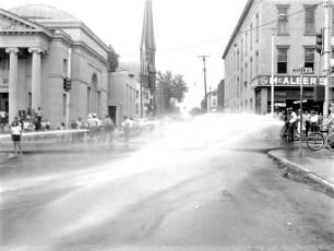 Multi Fire Company Emergency Water Test Warren St. Hudson 1964 (7)