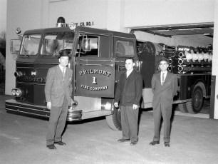 Philmont Fire Company's new fire truck 1963