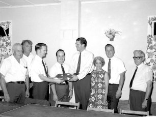 West Taghkanic Fire Co. 25th Anniversary with Cong. Hamilton Fish 1969