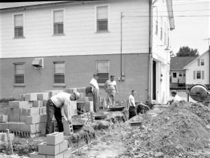 Livingston Fire Dept. Building Addition 1970 (3)
