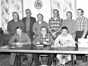 Livingston Fire. Co. Officers 1970