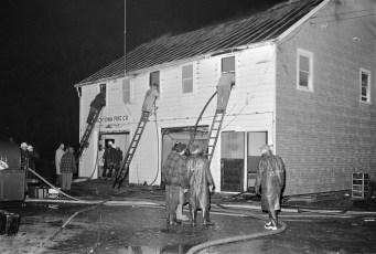 Churchtown Fire on top floor of the Firehouse Jan. 1959 (4)