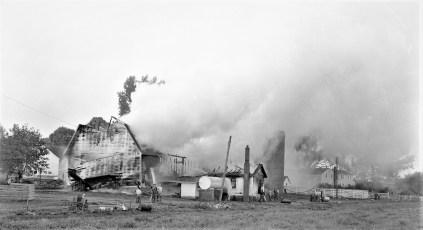 Copake Fire Grant Langdon Barn Oct.1955 (1)