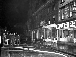 Hudson Fire Blue Paint Store May 1955 (2)