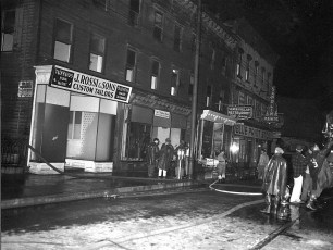 Hudson Fire Blue Paint Store May 1955 (3)