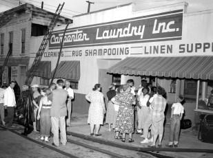 Hudson Fire Carpenter's Laundry Columbia St. July 1956 (3)