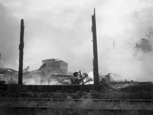 Hudson Fire Front Street Nov. 1951 (1)