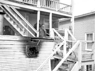 Hudson Fire Jack Thompson's Grill 2nd St. Mar. 1958 (4)