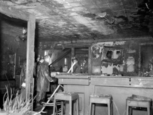 Hudson Fire Jack Thompson's Grill 2nd St. Mar. 1958 (5)