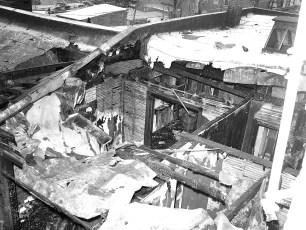 Hudson Fire Sunkist Super Market Dec. 1954 (2)