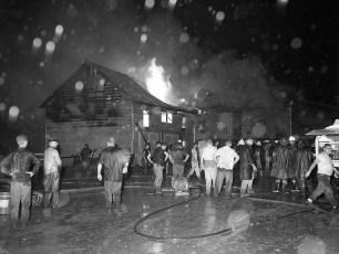 Kinderhook Fire Van Alstyne's Barn Aug. 1959 (1)