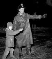 Tivoli Fire Huber's Barn Swamp Road Jan. 1957 (2)
