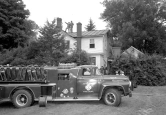 Clermont Fire Wes Potts Rt. 6 July 1962 (1)